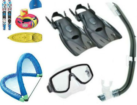 Image That Represents The Water Sports Aids & Equipments.