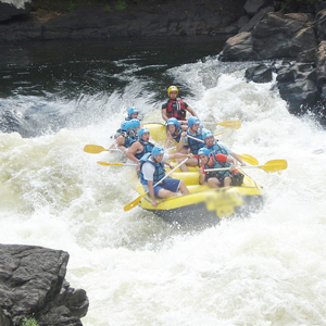 An Image of Water Rafting.
